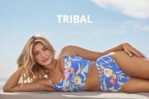 Tribal Blue Suit